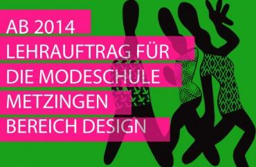 Lehrauftrag für die Modeschule Metzingen