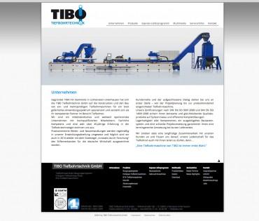 TIBO – Tiefbohrmaschinen im neuem Look