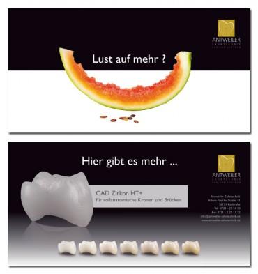 Mailingkampagne Antweiler Zahntechnik